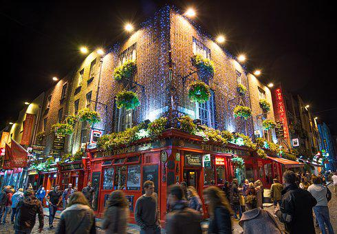 Temple Bar, Pub, Bar, Beer, Cafe, Dublin