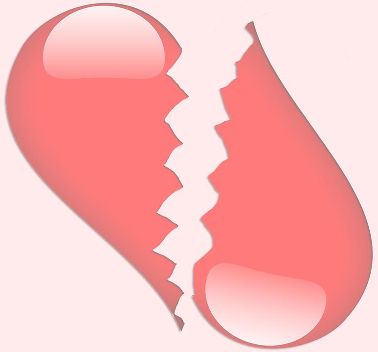 Zlomene Srdce Laska Obrazek Zdarma Na Pixabay