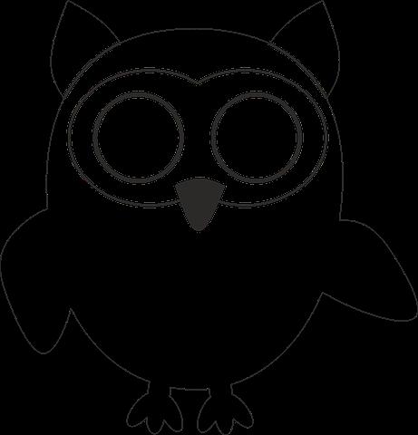 Рисунок совы для поделки 73