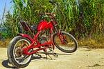 moped, improvised, makeshift