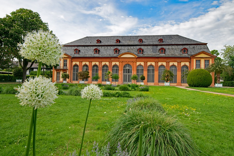 Orangery, Architecture, Spring, Flowers