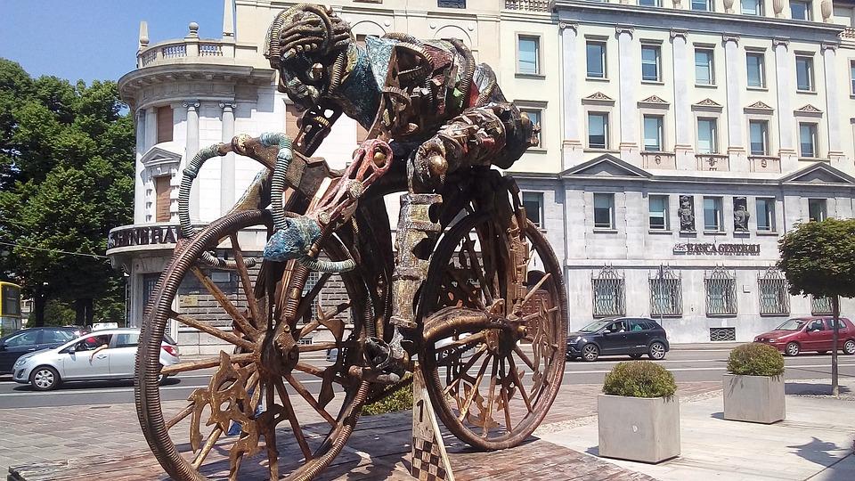 Bergame, Cyclisme, Cycliste, Le Giro D'Italia, Vélo
