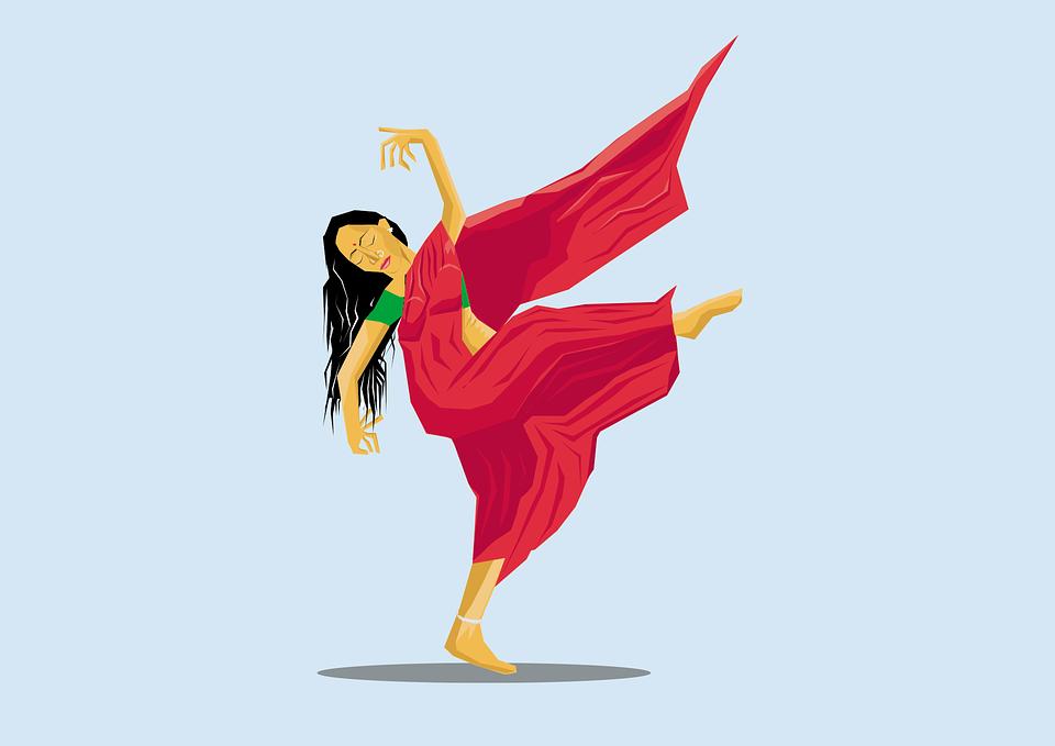 ダンサー, 南, インド, 文化, 伝統的な, ヒンドゥー教, 儀式, 伝統, イベント, 人, 女の子