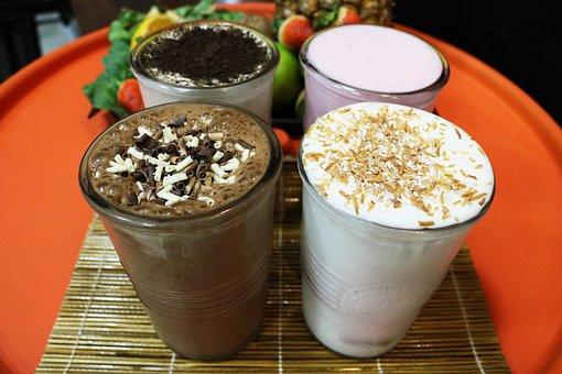 Chocolate, Milkshake, Milk, Shake, Cream