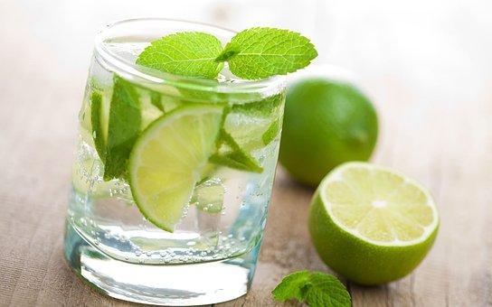 Limón, Bebidas, Vidrio