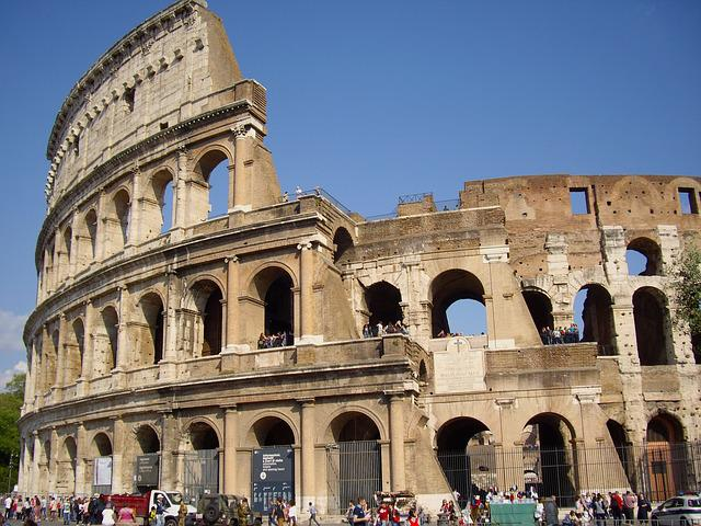 Free Photo: Rome, Colosseum, Italy