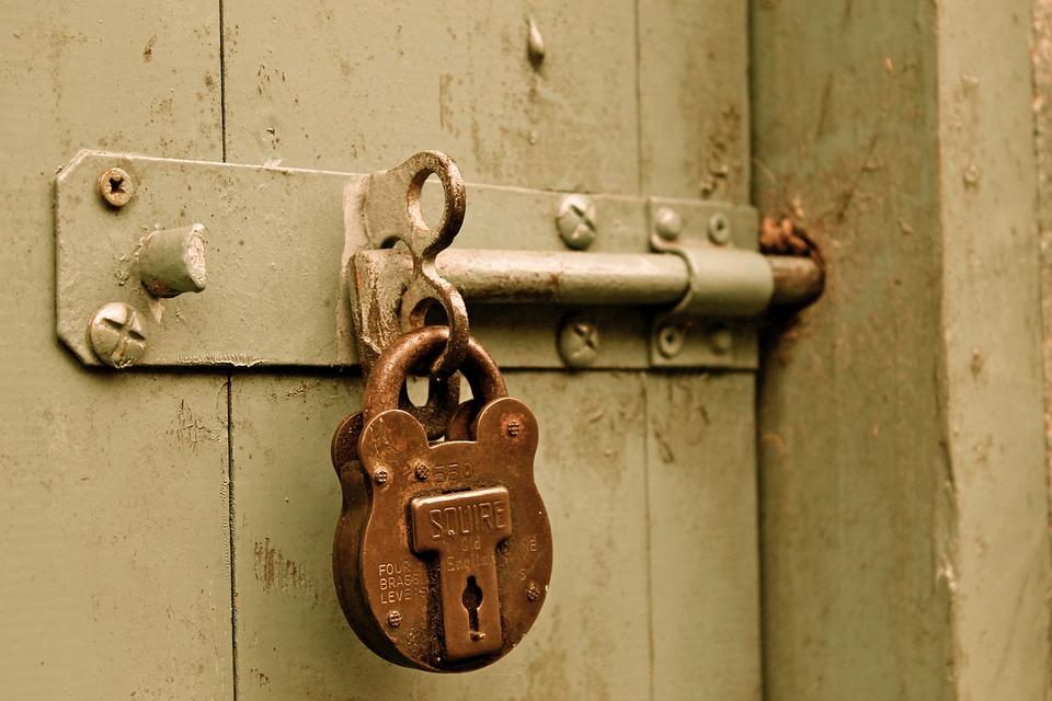 Bolt Padlock Door Locked Paint Gate & Door Lock Images · Pixabay · Download Free Pictures