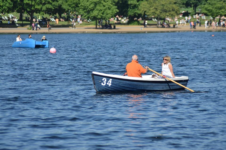 Boat, Lake, Leisure, Water, Summer, Travel, Vacation