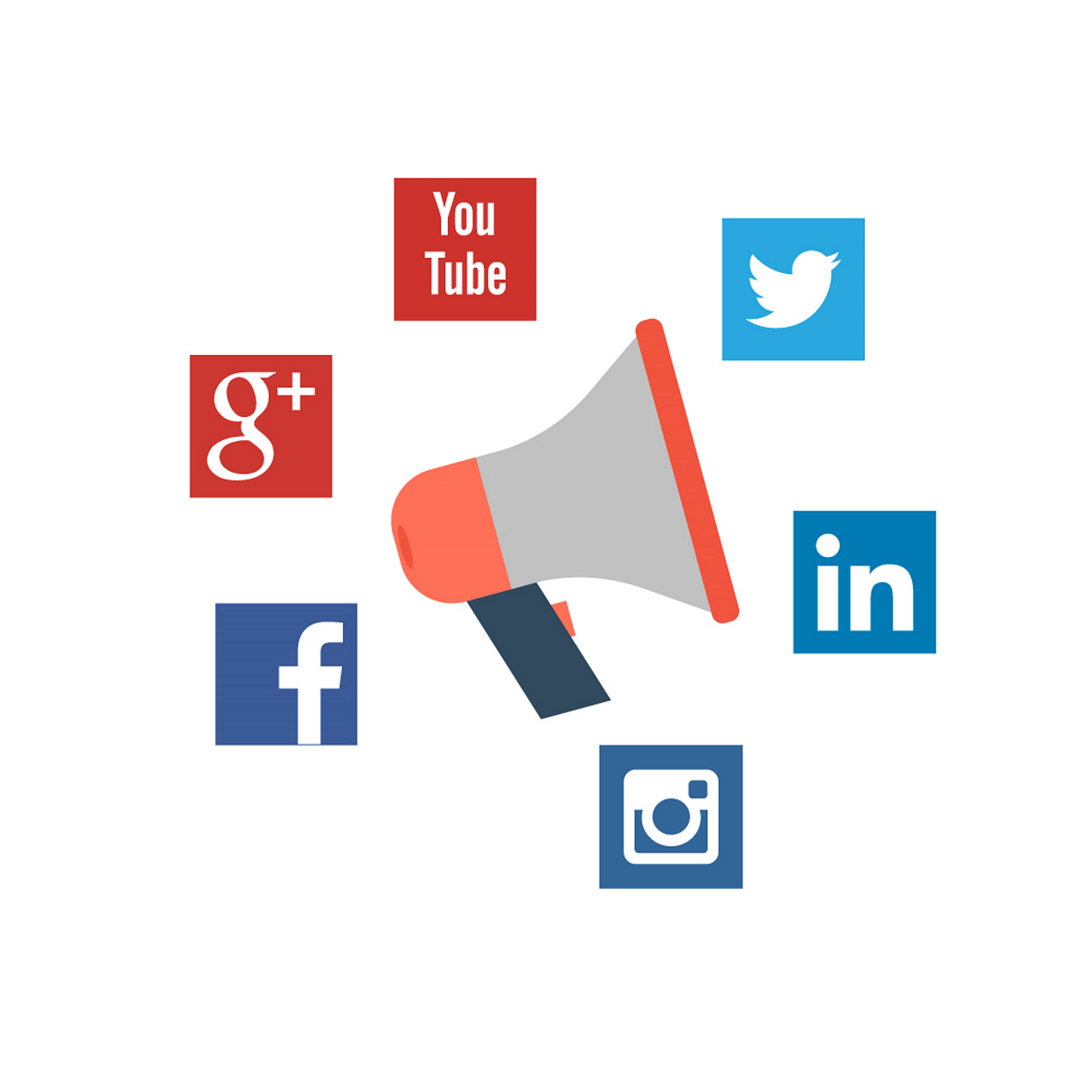 Presencia en redes sociales
