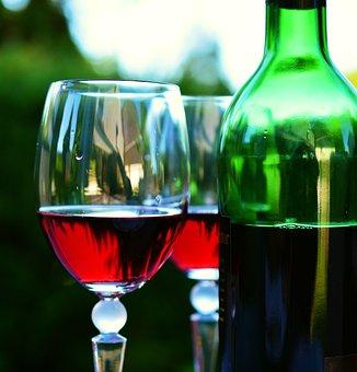 Wine, Wine Glass, Wine Bottle