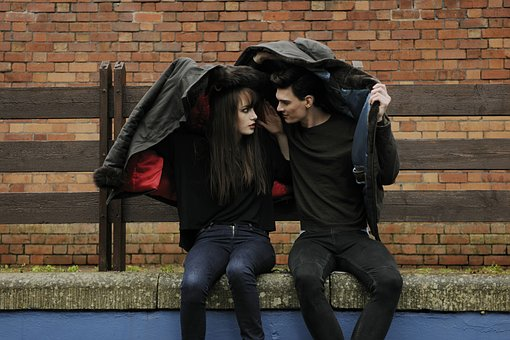 What Are Your Needs In A Relationship?-Shelter, Rain, Couple, Umbrella