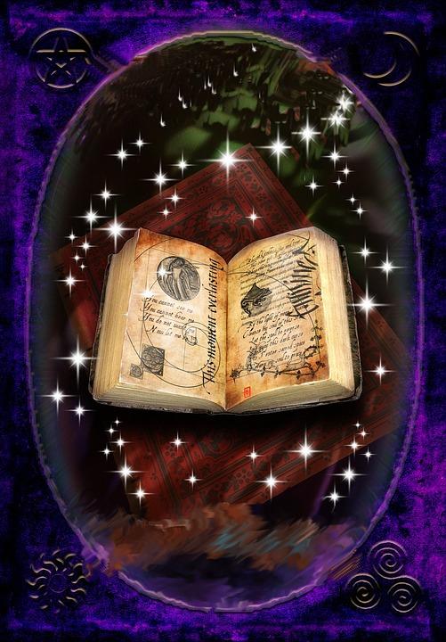 Magic, Spells, Book, Book Of Shadows, Dark Arts