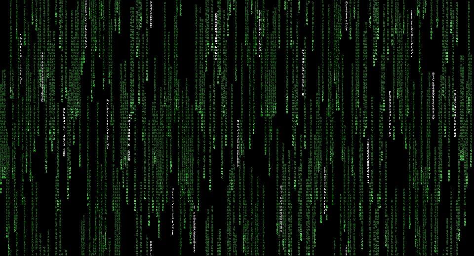 Matrix, Computer, Hacker, Code, Digital