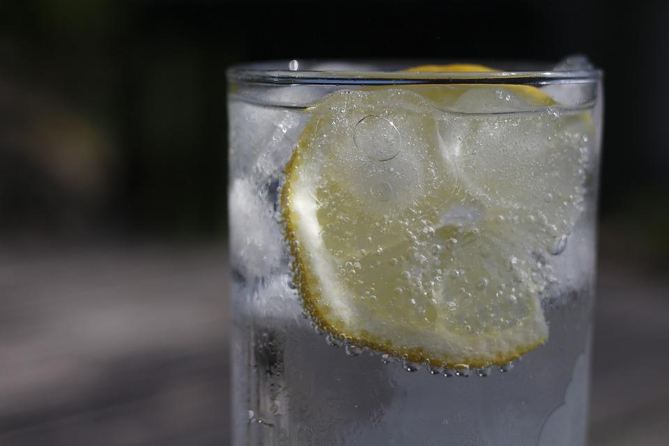 Beber, Limón, Vidrio, Refresco, Agrio, El Agua, Sed
