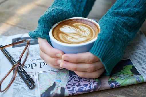 コーヒー, カフェイン, 写真, 飲料, カップ, コーヒーカップ, 朝