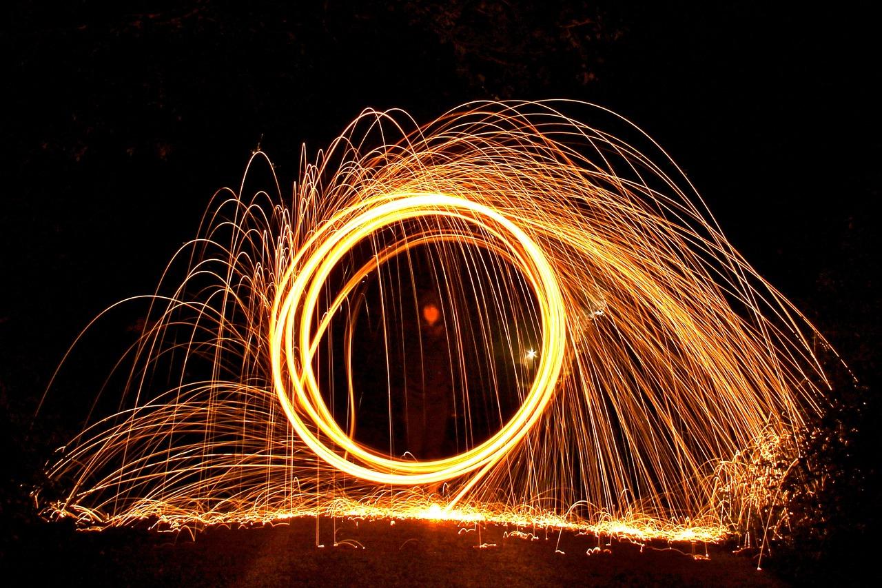 стрела фото огненных шаров часть фоток