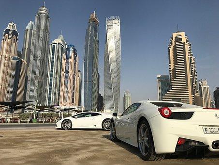 Dubai Marina, Sportcar, Dubai, Marina