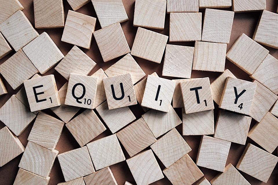 Equity, Fairness Equitable, Letters, Scrabble, Equal