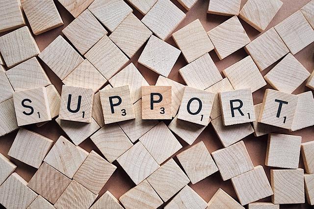 Customer support blocks