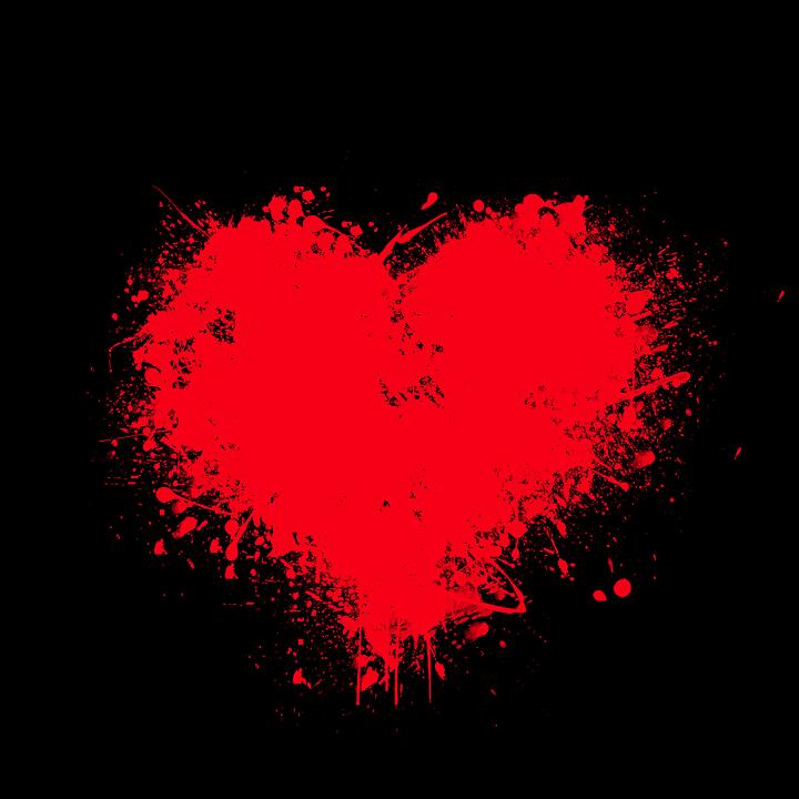 Herz Liebe Rotes Kostenloses Bild Auf Pixabay