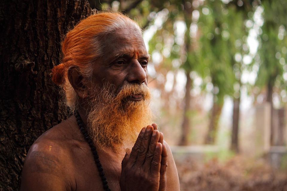 Saint, Priest, Holyman, Faith, Holy, Man, Old, Prayer,Pitru Paksha hindi