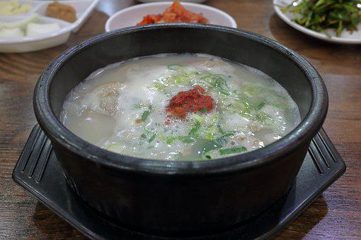 Pork Soup, Order Great, Haejangguk, Pot