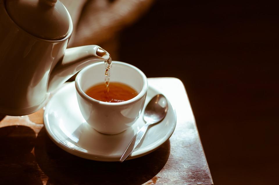 Tè, Caldo, Coppa, Tavolo, All'Ora Del Tè, Rottura