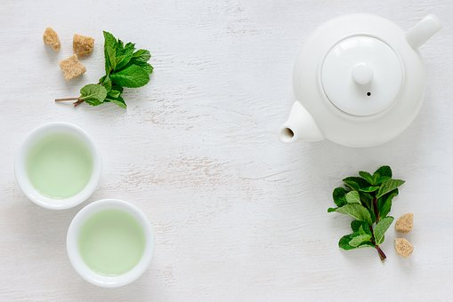 Tea, Green, Green Tea, Leaf, Teacup