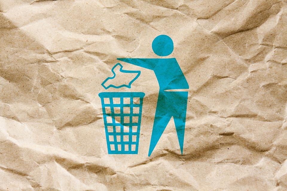 riciclaggio dei prodotti della tua azienda