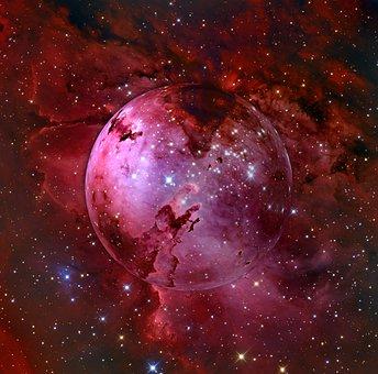 Galaxy, Niebla, Kosmus, Universo