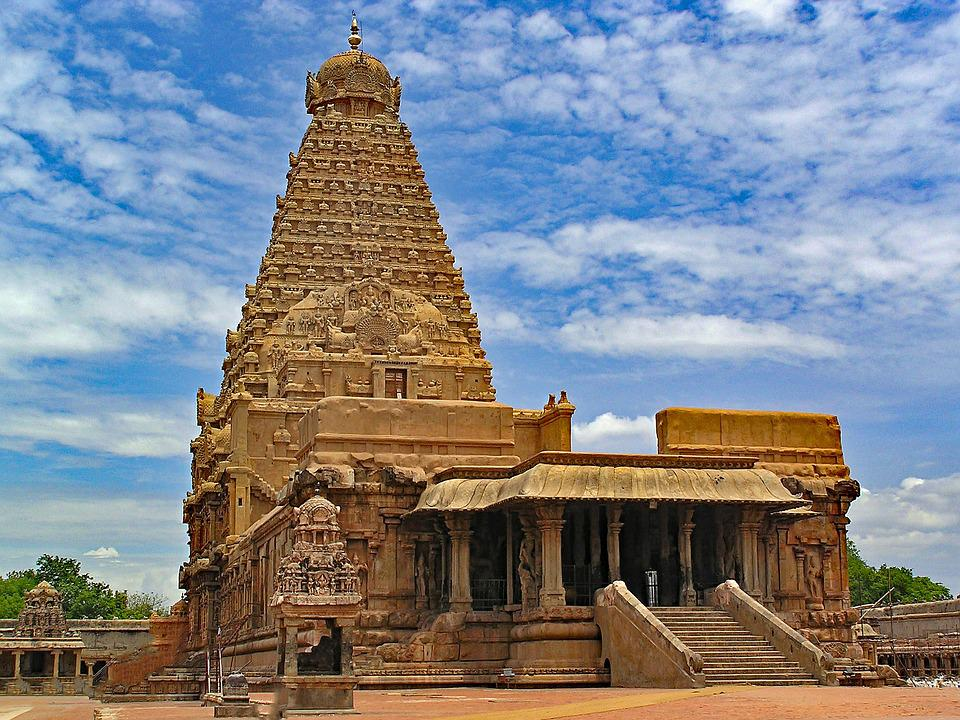 Brihadishvara Temple Thanjavur Free Photo On Pixabay