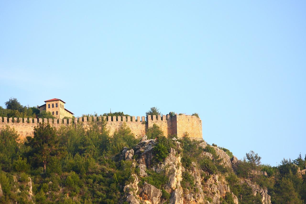 Замок Аланьи Башня - Бесплатное фото на Pixabay