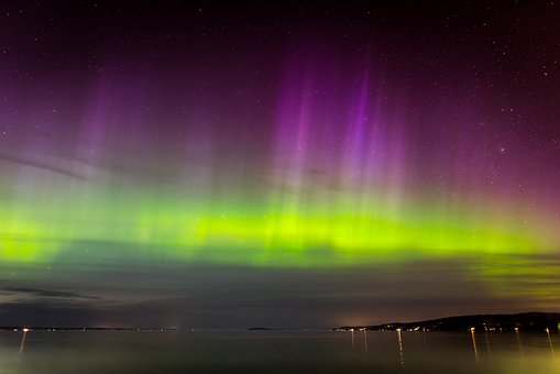 Aurora, Northern Lights, Borealis, Night