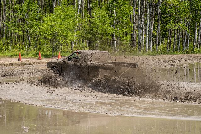 mud bog truck dirty  photo  pixabay