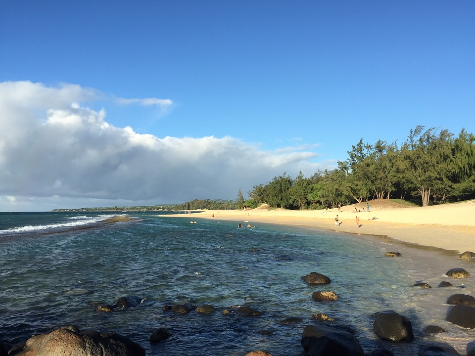 Maui, Hawaii, Paia, Beach, Ocean, Sand