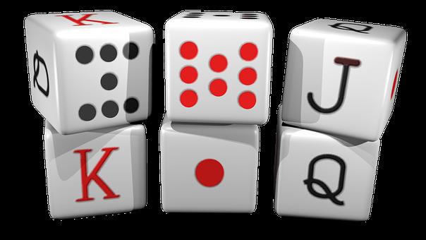 Dice, Poker, Random, Goblet, Casino