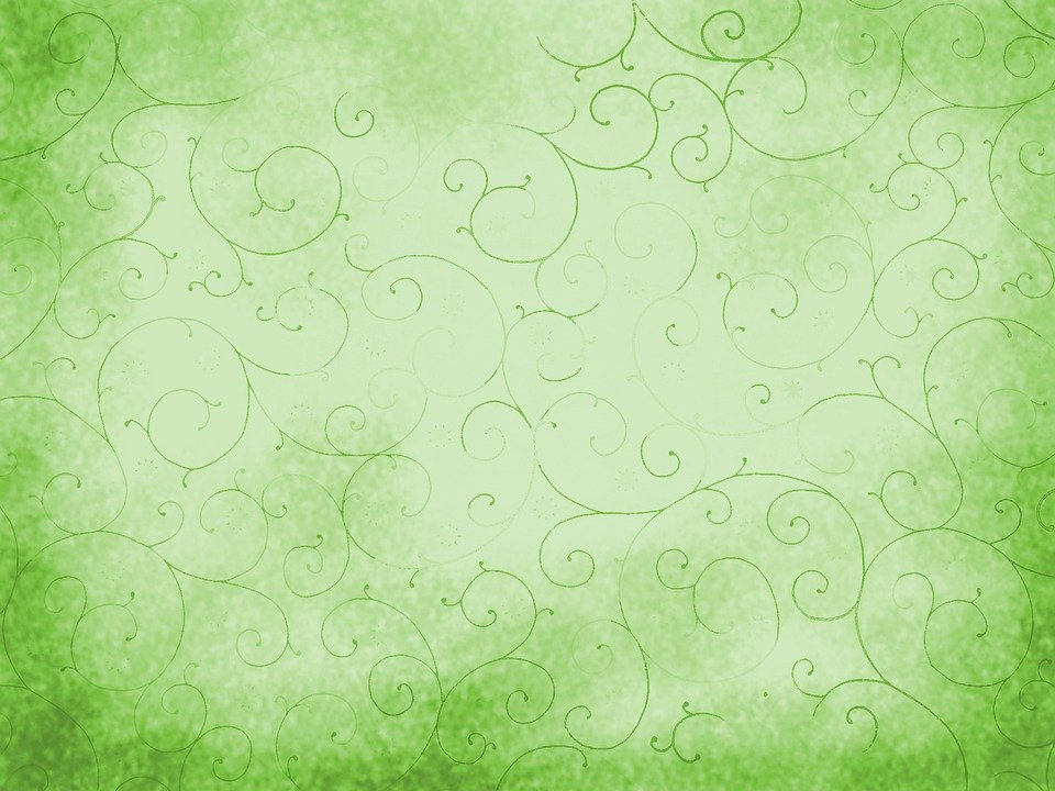 Background Light Green Abstract Spring Structure