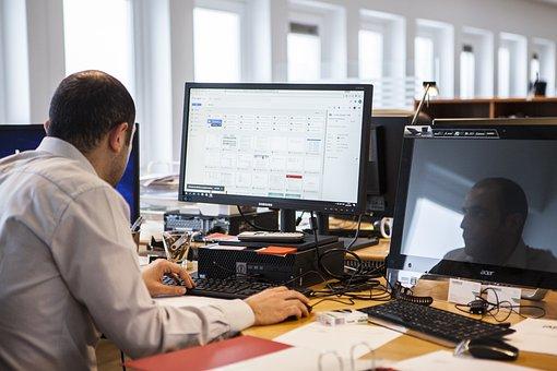Computador, Trabalho, Negócios