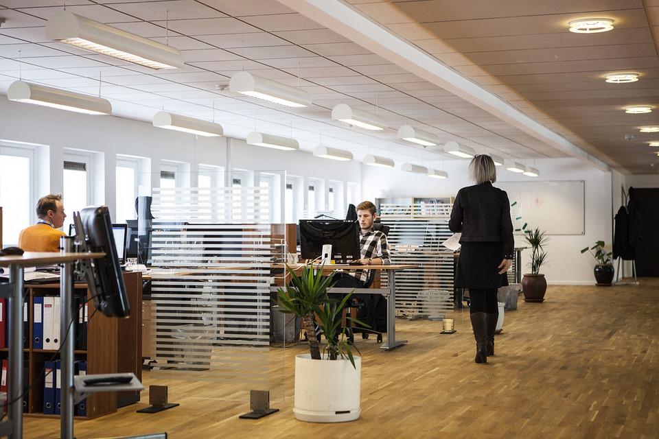biuro aranżacja firma pracownicy