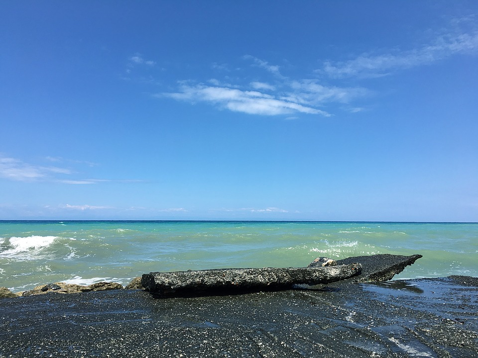 Cyprus, Kyrenia, The Mediterranean Sea, Lapta, Beach