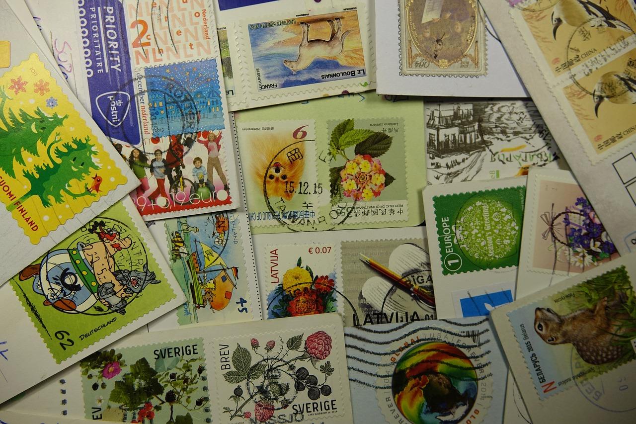 Продать открытку марку