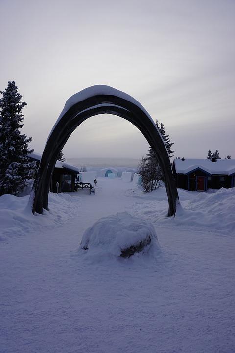 Icehotel Schweden Norden · Kostenloses Foto auf Pixabay