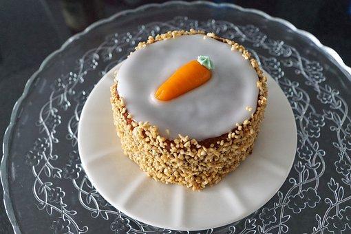 Cake, Carrot, Marzipan, Eat, Vegetables