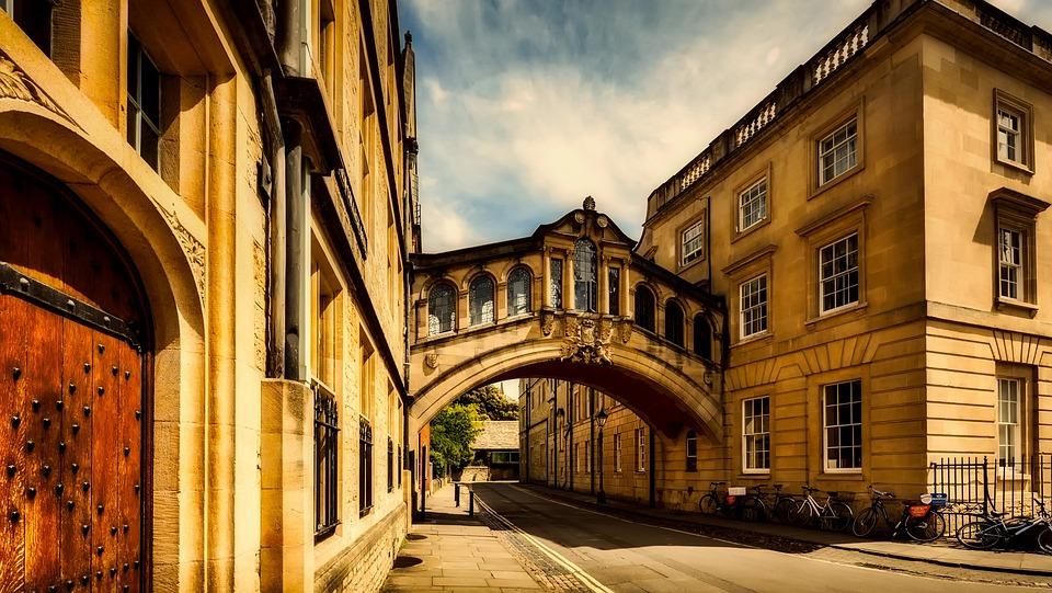 Oxford, Angleterre, La Grande Bretagne, Ville, Urbaines