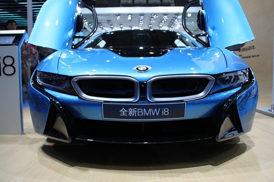 Bmw, I8, Elektrické Vozidlá