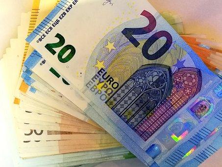 お金, ユーロ, ヨーロッパ, 現金, ファイナンス, コイン, ビジネス