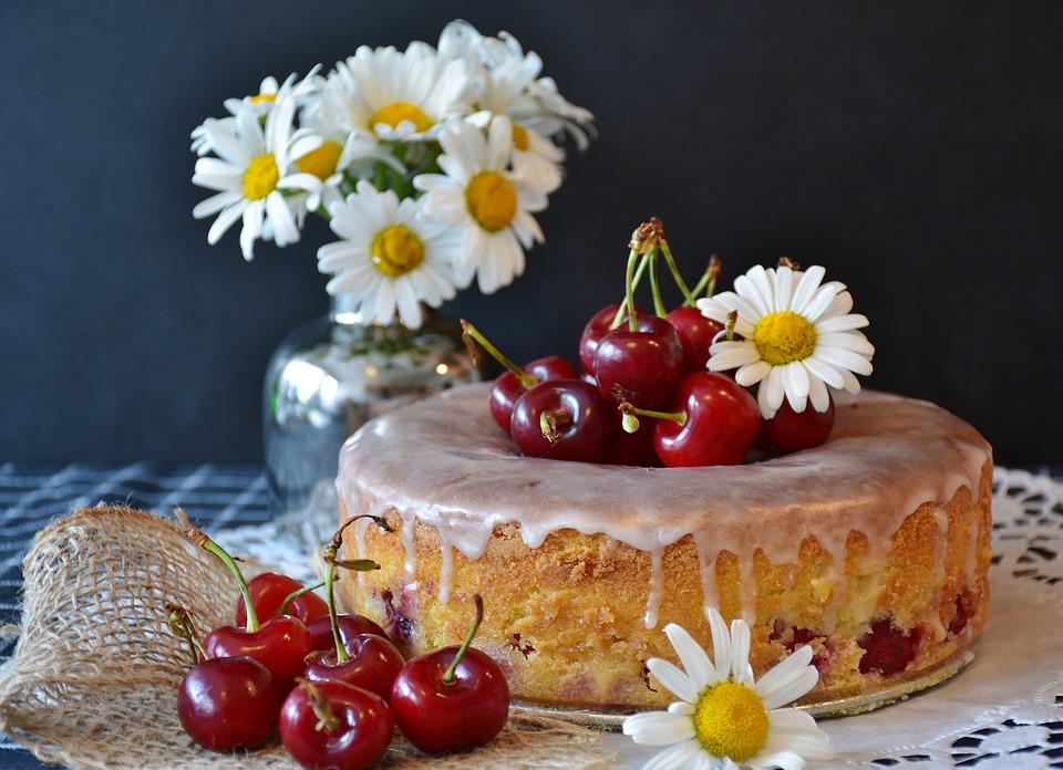 チェリーパイ, ケーキ, チェリー, 焼く, キッチン, 小麦粉, 砂糖, バター, 卵, 新鮮, 焼き