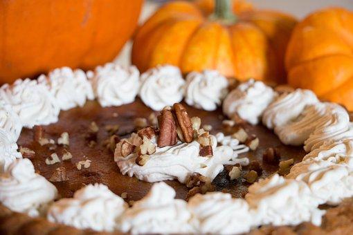 Pumpkin Pie, Whipped Cream, Pumpkin