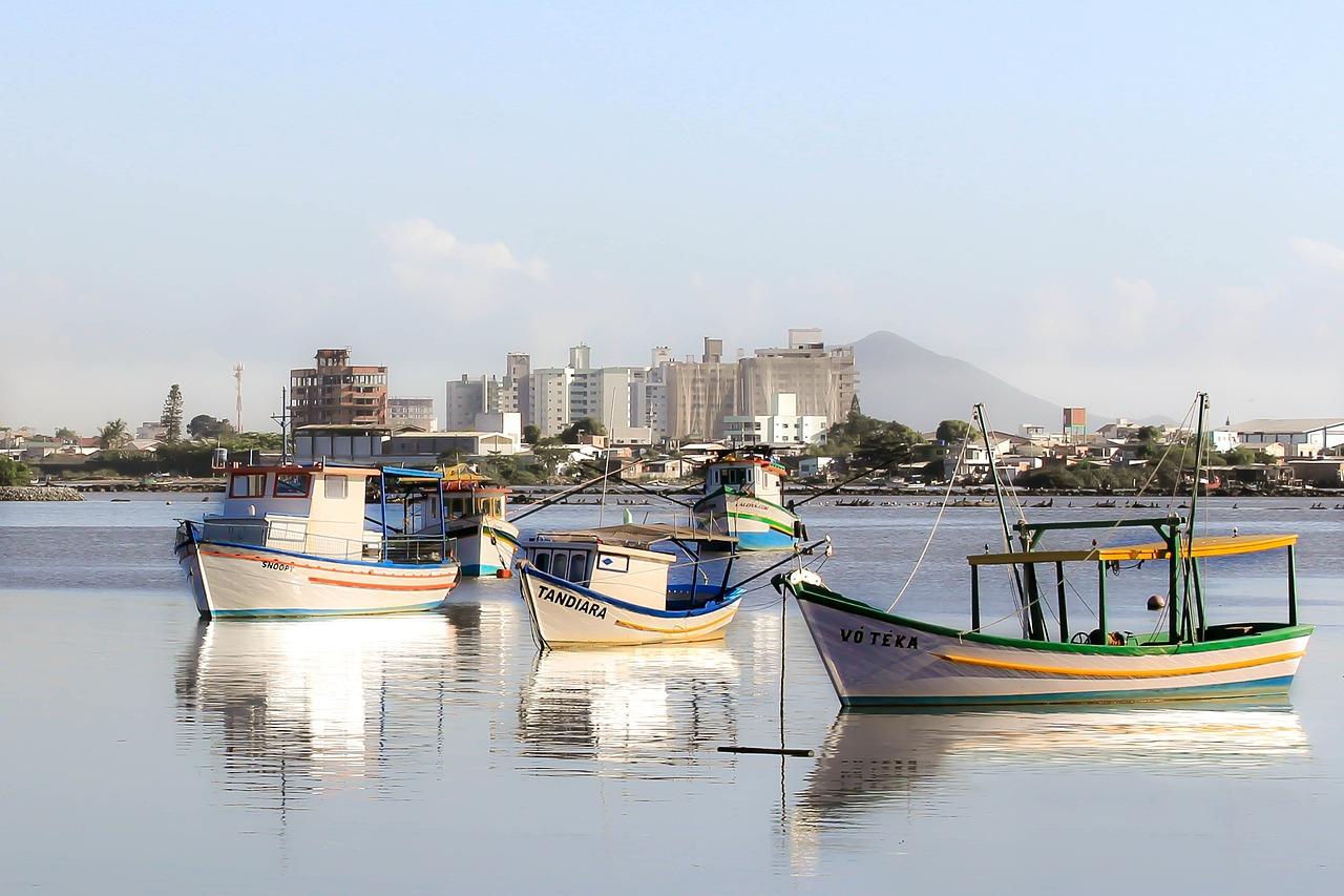 Itajai Santa Catarina Barcos - Foto gratuita no Pixabay
