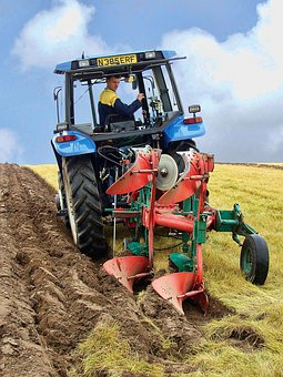 Farming, Ploughing, Agriculture, Plough